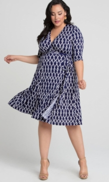 Jurk Essential Navy Graphic
