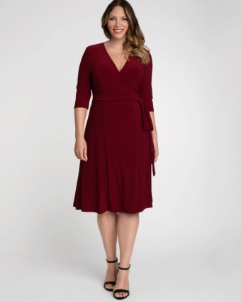 Jurk Essential Bordeaux