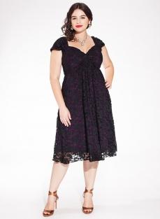 Home nieuw kanten jurk rachelle zwart